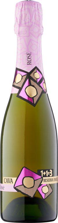 Cava Pinot Noir Rosé Organic 1+1=3 Reserva Familia 375ml