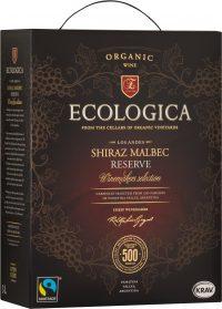 Ecologica Shiraz Malbec box