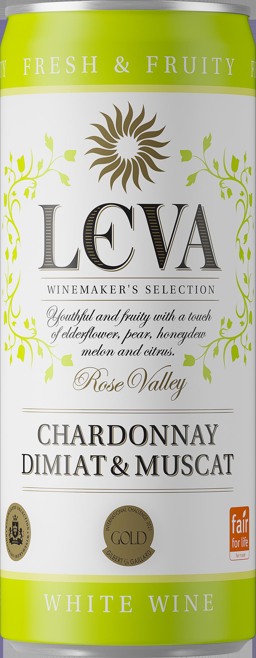 Leva Chardonnay Dimiat Muscat burk